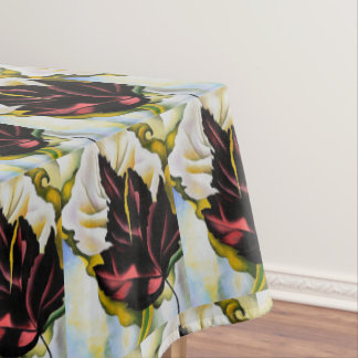 Still Life Pattern of Leaves Georgia O'Keefe Tablecloth