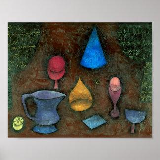 Still Life : Paul Klee 1927 Poster