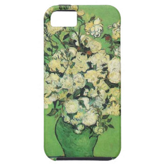 Still life - Pink Roses in a Vase Vincent an Gogh, iPhone 5 Case