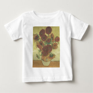 Still Life: Sunflowers Baby T-Shirt
