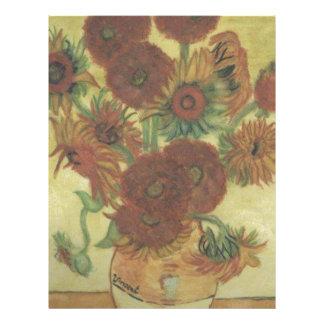 Still Life: Sunflowers Letterhead