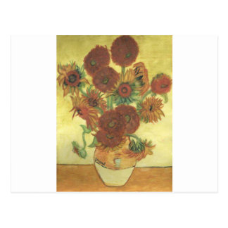 Still Life: Sunflowers Postcard