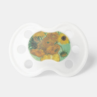 Still Life: Sunflowers - Vincent van Gogh Baby Pacifier