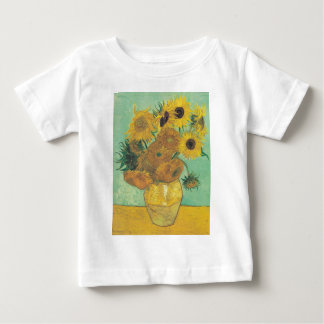 Still Life: Sunflowers - Vincent van Gogh Baby T-Shirt