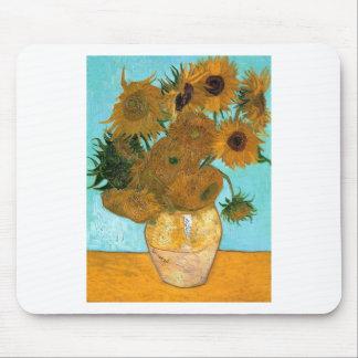 Still Life: Sunflowers - Vincent van Gogh Mouse Pad