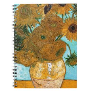 Still Life: Sunflowers - Vincent van Gogh Notebooks