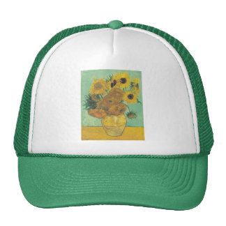 Still Life: Sunflowers - Vincent van Gogh Trucker Hat