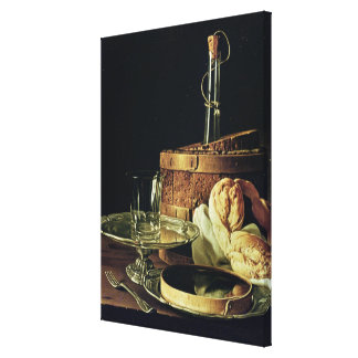 Still Life. The Snack Gallery Wrap Canvas