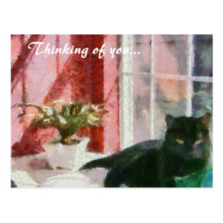 Still Life Thinking of you Postcard