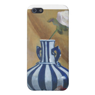 Still Life Vase and Rose iPhone 5 Case