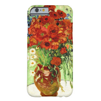Still Life, Vase with Daisies and Poppies Van Gogh Barely There iPhone 6 Case
