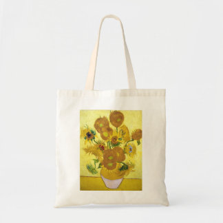Still Life - Vase with Fifteen Sunflowers van gogh Tote Bag