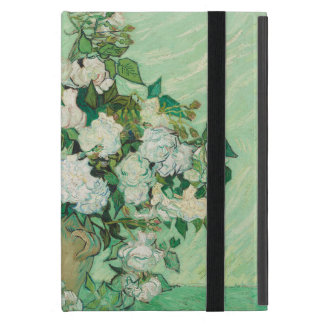 still life vase with pink ,white blue flower iPad mini case