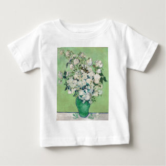Still Life: Vase with Roses - Vincent Van Gogh Baby T-Shirt