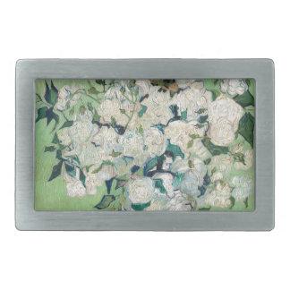 Still Life: Vase with Roses - Vincent Van Gogh Belt Buckles