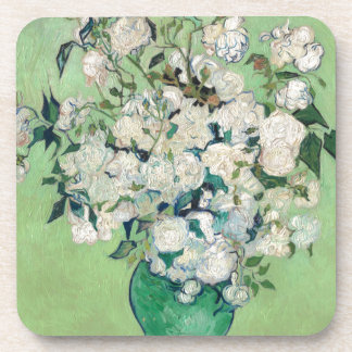 Still Life: Vase with Roses - Vincent Van Gogh Coaster
