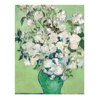 Still Life: Vase with Roses - Vincent Van Gogh Letterhead