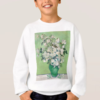 Still Life: Vase with Roses - Vincent Van Gogh Sweatshirt