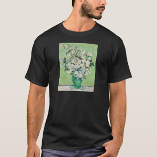 Still Life: Vase with Roses - Vincent Van Gogh T-Shirt