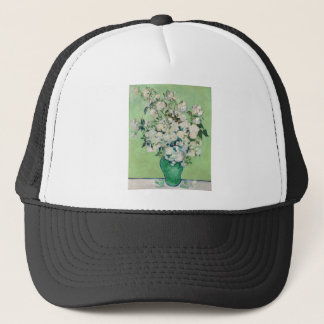 Still Life: Vase with Roses - Vincent Van Gogh Trucker Hat
