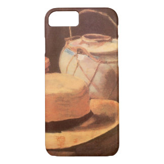 Still Life w Yellow Straw Hat by Vincent van Gogh iPhone 7 Case