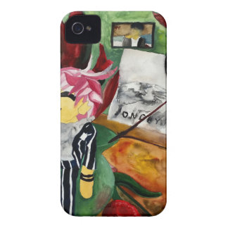 Still Life Watercolor 2016 iPhone 4 Case