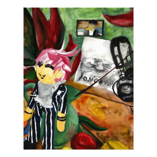Still Life Watercolor 2016 Letterhead