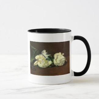 Still Life White Peony by Manet Mug