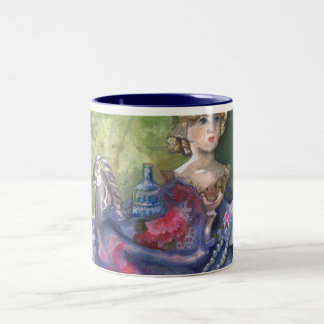 """Still Life- Wings and Treasures "" Classy Mug"