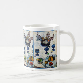 Still Life with 3 Puppies by Paul Gauguin Classic White Coffee Mug