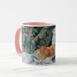 Still Life with a Curtain by Paul Cezanne Mug