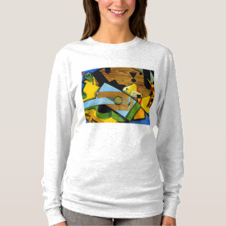 Still Life with a Guitar by Juan Gris T-Shirt