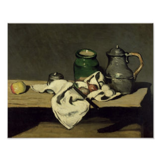 Still Life with a Kettle, c.1869 Poster