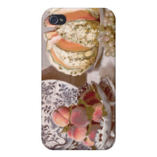 Still Life with a Melon - Claude Monet iPhone 4 Cover