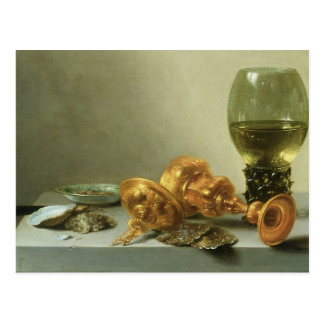 Still Life with a Roemer Postcard