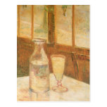 Still Life with Absinthe by Vincent van Gogh Post Cards