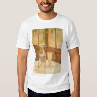 Still Life with Absinthe by Vincent van Gogh Tee Shirts