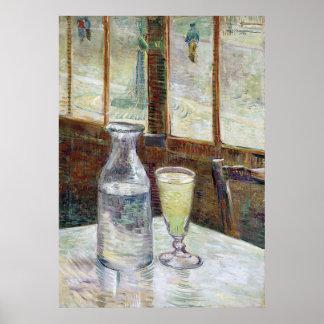 Still Life with Absinthe, Vincent Van Gogh Poster