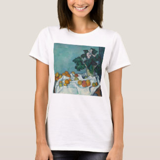Still Life with Apples and a Pot of Primroses T-Shirt