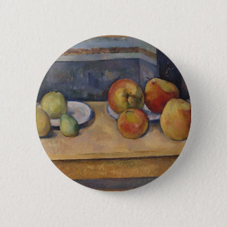 Still Life with Apples and Pears 2 Inch Round Button