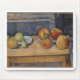 Still Life with Apples and Pears Mouse Pad