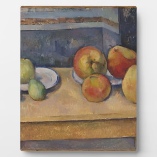 Still Life with Apples and Pears Plaque
