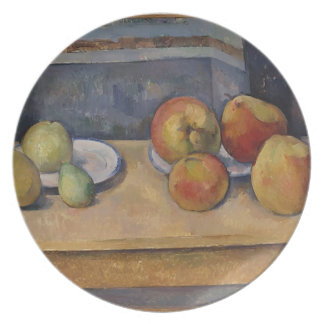 Still Life with Apples and Pears Plate
