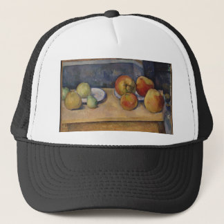 Still Life with Apples and Pears Trucker Hat