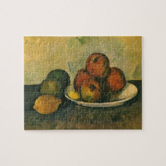 Still Life with Apples by Paul Cezanne Jigsaw Puzzle
