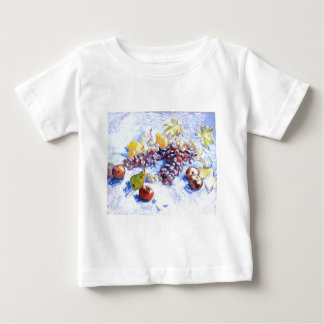 Still Life with Apples, Pears, Grapes - Van Gogh Baby T-Shirt