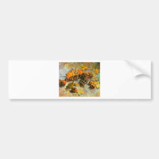 Still Life with Apples, Pears, Grapes - Van Gogh Bumper Sticker