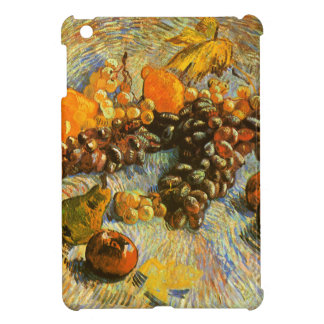 Still Life with Apples, Pears, Grapes - Van Gogh iPad Mini Cases