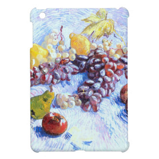 Still Life with Apples, Pears, Grapes - Van Gogh iPad Mini Covers