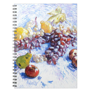 Still Life with Apples, Pears, Grapes - Van Gogh Notebooks